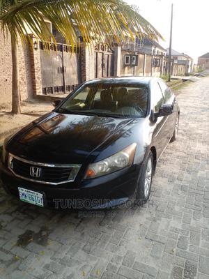Honda Accord 2008 2.4 EX-L Black   Cars for sale in Lagos State, Ajah