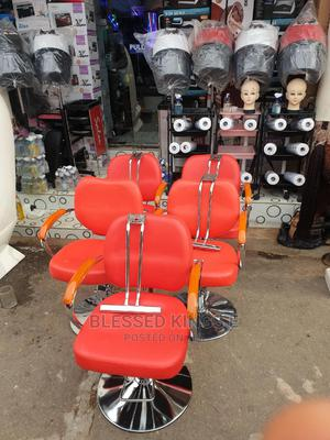 Red Styling Chair   Salon Equipment for sale in Abuja (FCT) State, Wuse