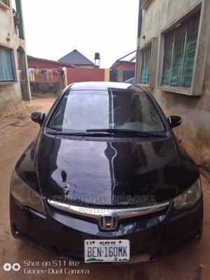 Honda Civic 2008 1.8 EX-L Automatic Black | Cars for sale in Edo State, Benin City