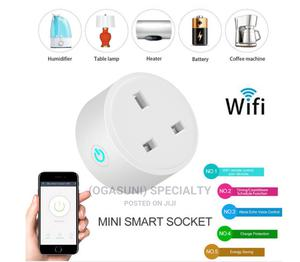 British Standard Wifi Smart Socket APP Mobile Phone | Accessories for Mobile Phones & Tablets for sale in Abia State, Aba North