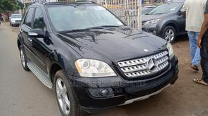 Mercedes-Benz M Class 2008 ML 350 4Matic Black   Cars for sale in Lagos State, Isolo