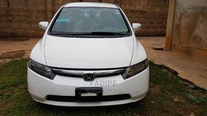 Honda Civic 2007 Hybrid CVT Automatic-Pzev White | Cars for sale in Oyo State, Ibadan