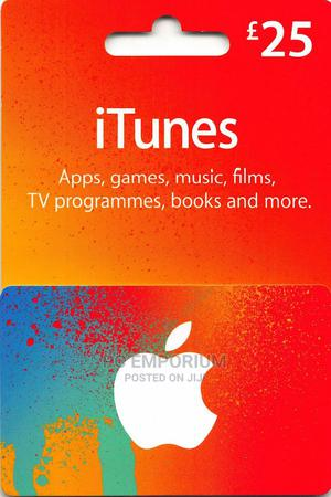 iTunes Gift Card (UK) - £25 | Accessories & Supplies for Electronics for sale in Abuja (FCT) State, Gudu