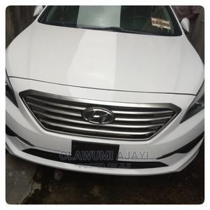 Hyundai Sonata 2015 White | Cars for sale in Lagos State, Yaba