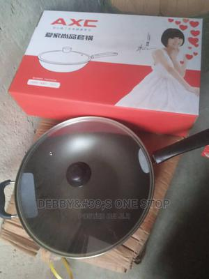 Non- Stick Fry Pan With Cover | Kitchen & Dining for sale in Lagos State, Lagos Island (Eko)
