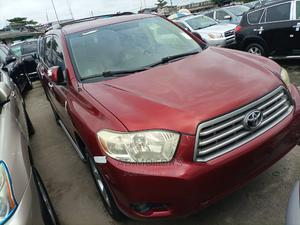 Toyota Highlander 2008 Limited 4x4 Red | Cars for sale in Lagos State, Apapa