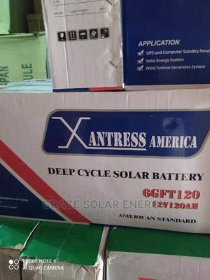 XANTRESS 12V 120ah Battery | Solar Energy for sale in Lagos State, Ikeja