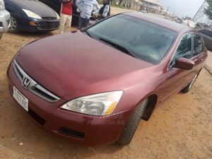 Honda Accord 2007 Red | Cars for sale in Abuja (FCT) State, Lugbe District