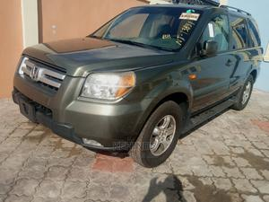 Honda Pilot 2007 EX 4x4 (3.5L 6cyl 5A) Green | Cars for sale in Lagos State, Ojo
