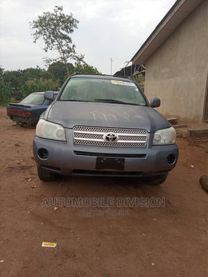 Toyota Highlander 2006 Hybrid 4x4 Blue   Cars for sale in Lagos State, Ikeja