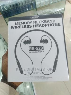 Remax Memory Neckband Wireless Headphone   Accessories for Mobile Phones & Tablets for sale in Lagos State, Ikeja