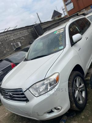 Toyota Highlander 2010 Limited White | Cars for sale in Lagos State, Apapa