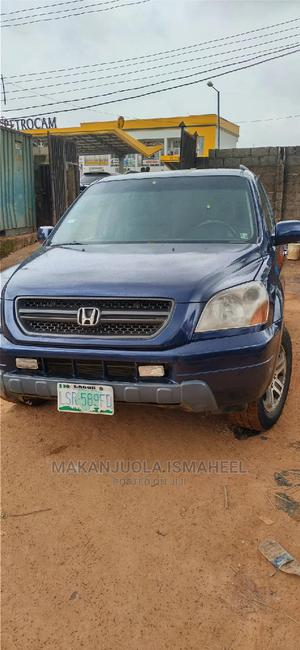 Honda Pilot 2005 Blue | Cars for sale in Lagos State, Alimosho