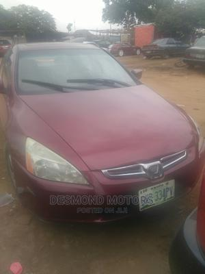 Honda Accord 2005 Red | Cars for sale in Abuja (FCT) State, Apo District