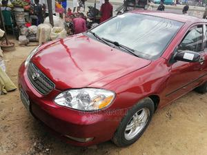 Toyota Corolla 2003 Sedan Automatic Red | Cars for sale in Rivers State, Obio-Akpor
