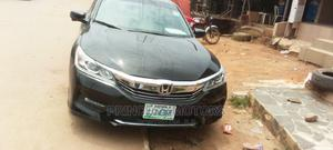 Honda Accord 2017 Black | Cars for sale in Lagos State, Isolo