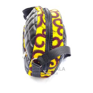 Zena Anka Leather Plus Ankara Bag | Bags for sale in Lagos State, Ajah
