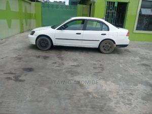 Honda Civic 2002 White | Cars for sale in Lagos State, Alimosho