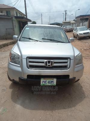 Honda Pilot 2007 EX-L 4x4 (3.5L 6cyl 5A) Silver | Cars for sale in Lagos State, Isolo