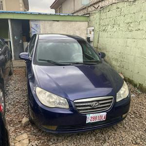 Hyundai Elantra 2008 1.6 GL Blue | Cars for sale in Lagos State, Agege