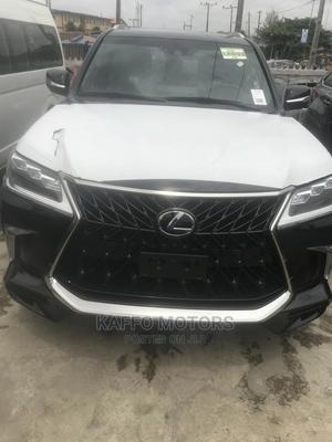 Lexus LX 2020 570 AWD Black | Cars for sale in Lagos State, Ikeja