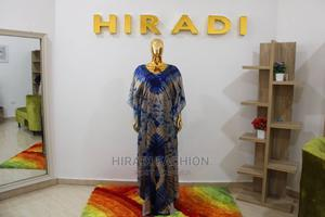 Silk Adire Boubou   Clothing for sale in Abuja (FCT) State, Wuye