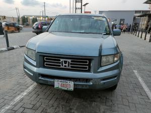 Honda Ridgeline 2007 Gray   Cars for sale in Lagos State, Ogba