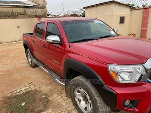 Toyota Tacoma 2010 Double Cab V6 Automatic Red | Cars for sale in Oyo State, Ibadan