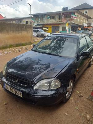 Honda Civic 1997 DX 2dr Coupe Black | Cars for sale in Plateau State, Jos
