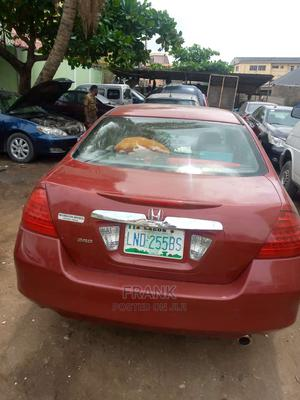 Honda Accord 2007 Red   Cars for sale in Lagos State, Yaba