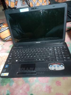 Laptop Toshiba Satellite C655D 4GB Intel Core 2 Duo 320GB   Laptops & Computers for sale in Oyo State, Ibadan