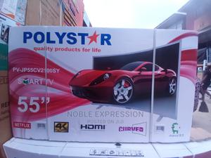 """Polystar 55"""" Curved TV Smart   TV & DVD Equipment for sale in Lagos State, Ojo"""