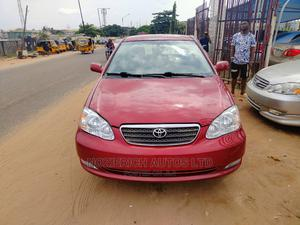 Toyota Corolla 2006 LE Red   Cars for sale in Lagos State, Isolo