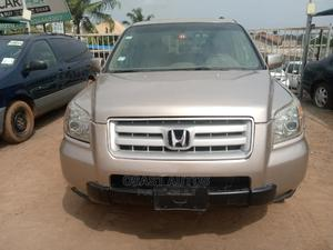 Honda Pilot 2003 Gold | Cars for sale in Lagos State, Ojodu