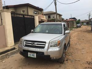 Honda Pilot 2007 EX 4x2 (3.5L 6cyl 5A) Silver | Cars for sale in Lagos State, Alimosho