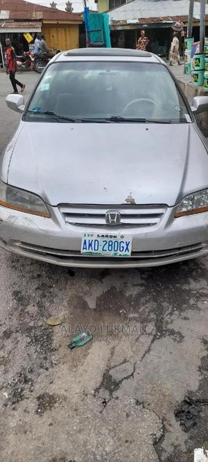 Honda Accord 2001 Silver   Cars for sale in Lagos State, Shomolu