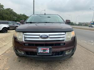 Ford Edge 2010 SE 4dr FWD (3.5L 6cyl 6A) Red   Cars for sale in Abuja (FCT) State, Gwarinpa