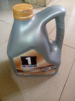 Mobil 0w-40 Full Synthetic Engine Oil - 4L | Vehicle Parts & Accessories for sale in Abuja (FCT) State, Gudu