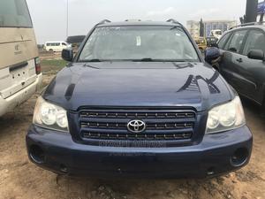 Toyota Highlander 2003 Limited V6 AWD Blue   Cars for sale in Lagos State, Ojodu