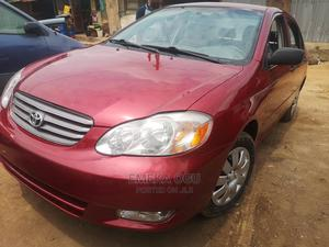 Toyota Corolla 2003 Red | Cars for sale in Rivers State, Port-Harcourt