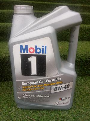 Mobil 1 Advanced Full Synthetic Motor Oil 0w-40 5 Liters | Vehicle Parts & Accessories for sale in Abuja (FCT) State, Gudu