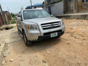 Honda Pilot 2007 Silver | Cars for sale in Lagos State, Alimosho