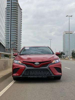 Toyota Camry 2019 SE (2.5L 4cyl 8A) Red | Cars for sale in Abuja (FCT) State, Garki 2