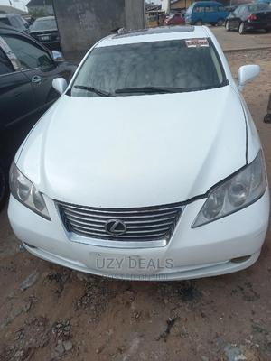 Lexus ES 2009 350 White | Cars for sale in Lagos State, Isolo