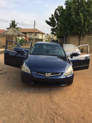 Honda Accord 2004 Automatic Blue | Cars for sale in Lagos State, Abule Egba
