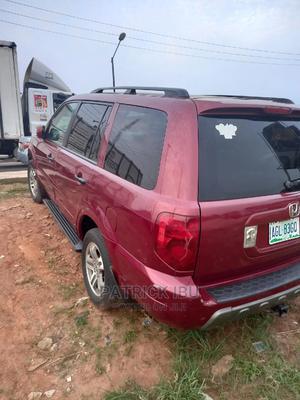 Honda Pilot 2005 Red | Cars for sale in Lagos State, Ifako-Ijaiye