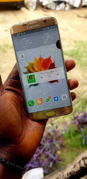 Samsung Galaxy S7 edge 32 GB Gold | Mobile Phones for sale in Akwa Ibom State, Uyo