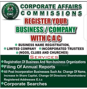 Register Your Desire Business/Company With CAC in Nigeria | Legal Services for sale in Lagos State, Abule Egba