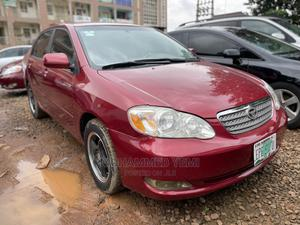 Toyota Corolla 2007 Red | Cars for sale in Abuja (FCT) State, Gwarinpa