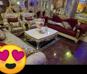 Interior Design Sofa Chair by 7 Seater Complete Set   Furniture for sale in Lagos State, Tarkwa Bay Island